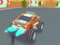 3D Monster Truck Skyroads