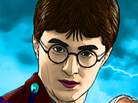 Harry Potter ausmalen